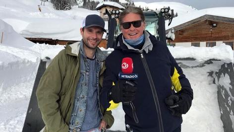 Benny Hörtnagl und David Hasselhoff