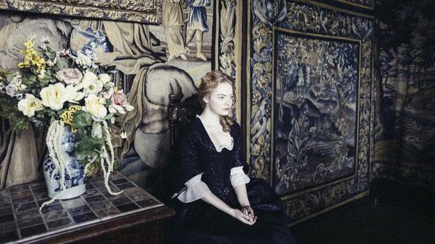 """Emma Stone im Film """"The Favourite - Intrigen und Irrsinn"""""""
