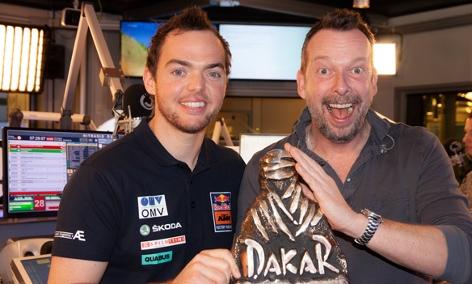 Rallye Dakar: Matthias Walkner zu Gast
