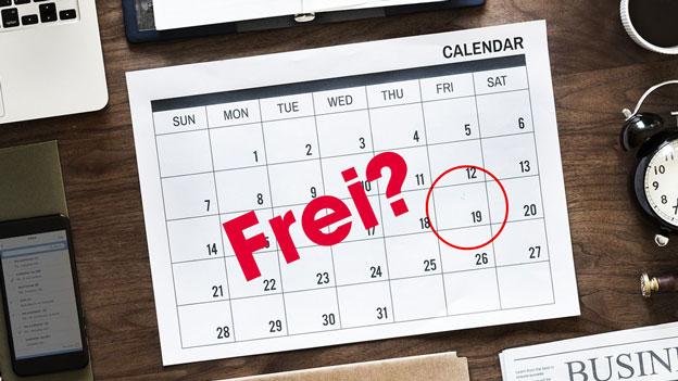 Kalender Karfreitag