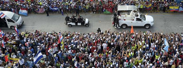 Papst Franziskus in Panama