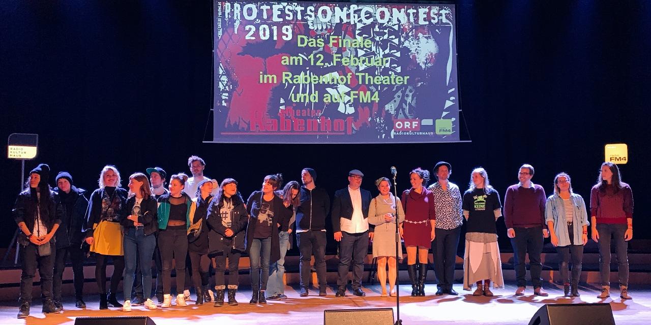 Protestsongcontest Vorfinale 2019