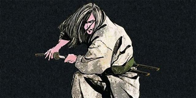 Samurai auf Buchcover