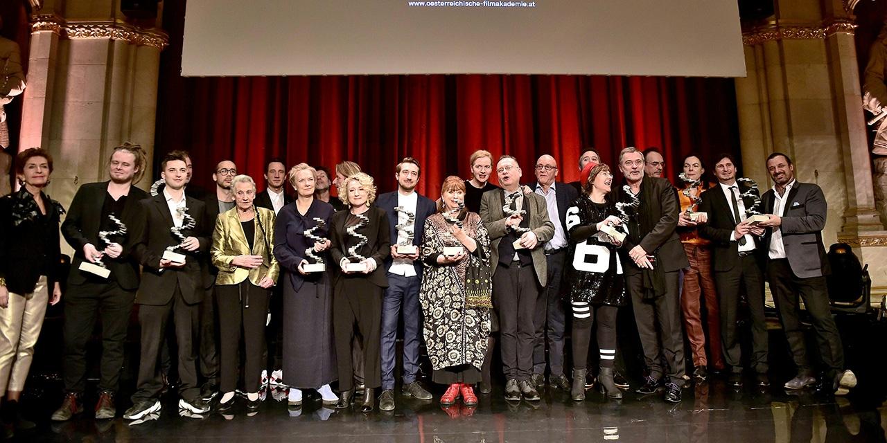 Österreichischer Filmpreis 2019 Gruppenbild