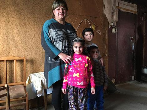Armenien Familie