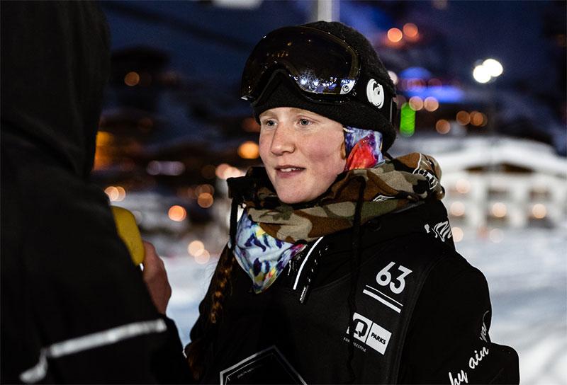 Amber Fannell ist eine 11-Jährige britische Freestyle Ski und Snowboarderin.