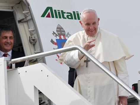 Abu Dhabi: Hohe Erwartungen an Rede des Papstes