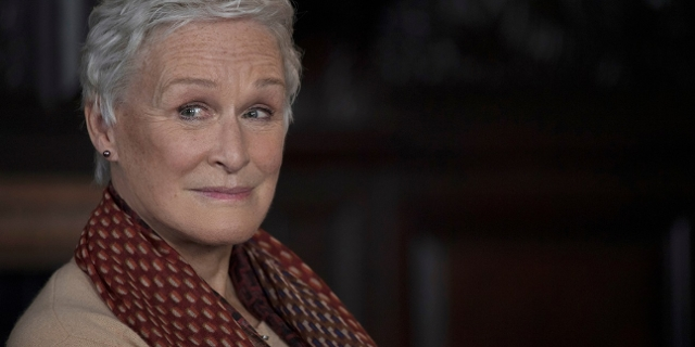 Glenn Close im Close Up