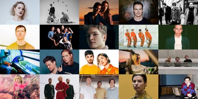Die 20 nominierten Bands des FM4 Awards beim Amadeus 2019