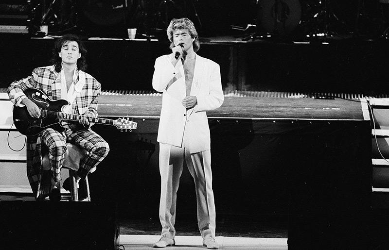 Wham! 1985, Andrew Ridgeley und George Michael