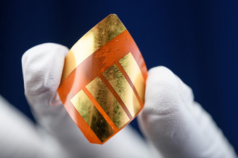 Solarzellen: Biegsam, leicht und billig
