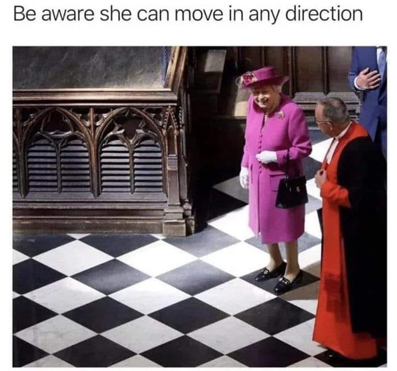 Queen Schach Meme