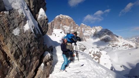 Land der Berge  Eine Skirunde in den Dolomiten