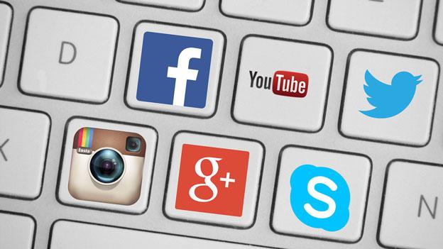 Apps / Social Media / Google Plus / Instagram / facebook / Youtube / Twitter / Skype