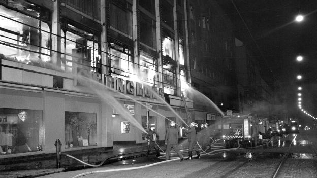 Gerngroßbrand am 7.Februar 1979