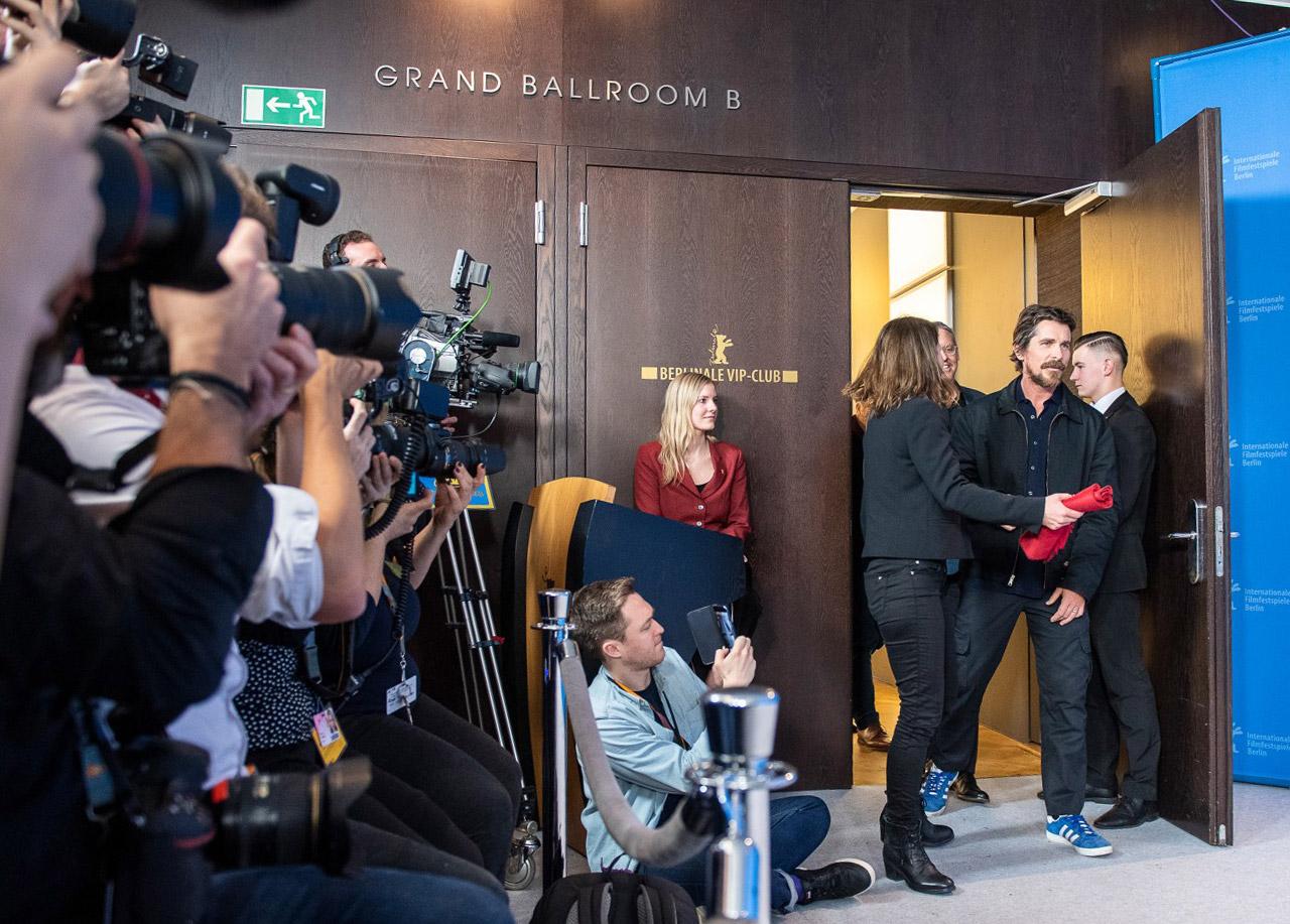 Christian Bale auf der Berlinale
