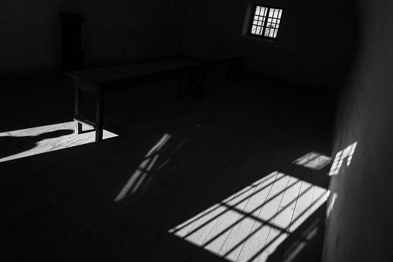 Gefängniszelle aus der NS-Zeit