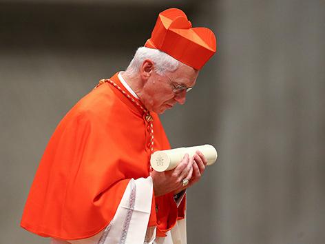 Der belgische Kardinal Jozef De Kesel