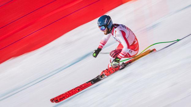 Marco Schwarz Abfahrt Ski