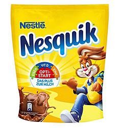 Eine Packung Nesquik Kakao