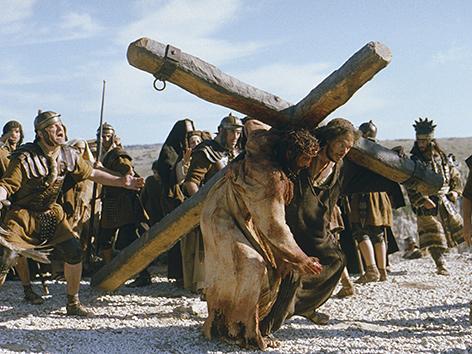 "Szene aus dem Film ""Die Passion Christi"" des Regisseurs Mel Gibson"