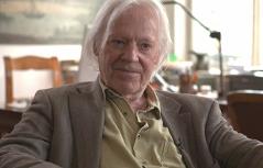 Paartherapeut Wolfgang Schmidbauer beim Interview