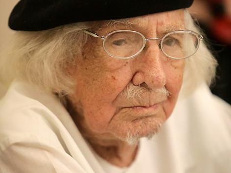 Der Nicaraguanische Befreiungstheologe und Schriftsteller Ernesto Cardenal