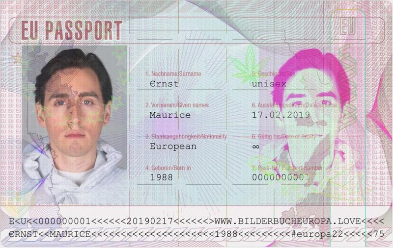 Maurice Ernst auf EU-Pass