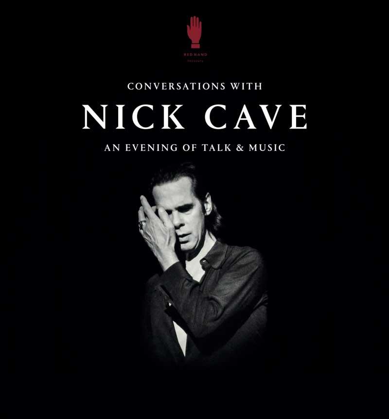 Nick Caves Conversation Tour Ankündigung
