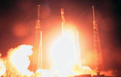 Raketenstart mit israelischer Raumsonde