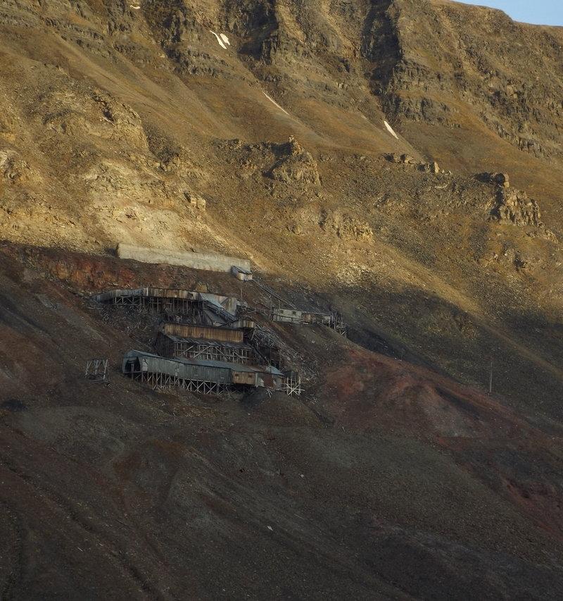Svalbard old mine
