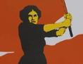 Plakat zum Frauenwahlrecht