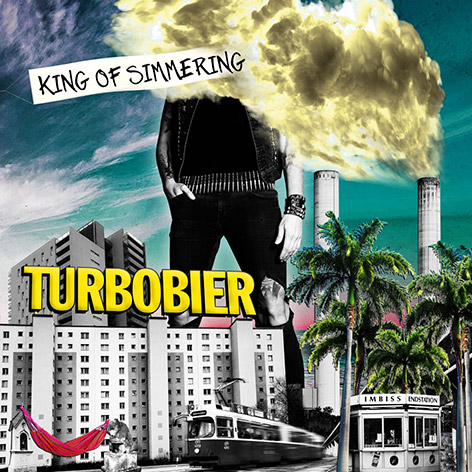 """CD-Cover """"King of Simmering"""" von Turbobier"""