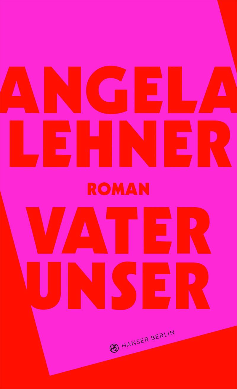 Buchcover in Rot und Pink