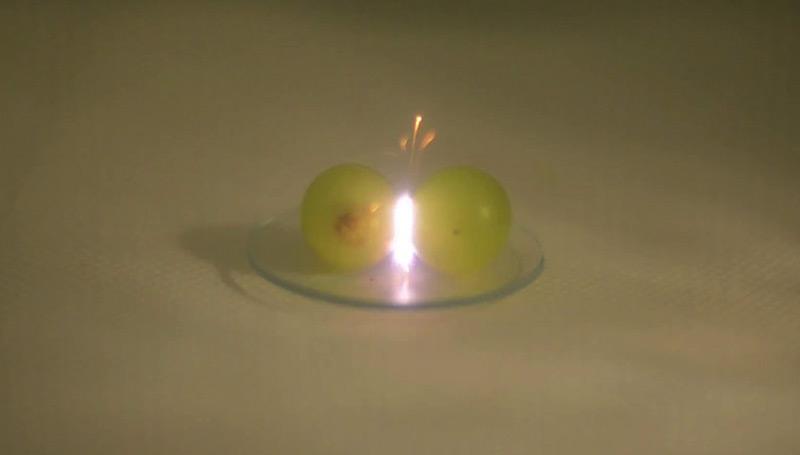 Rätsel um Weintrauben-Plasma gelöst