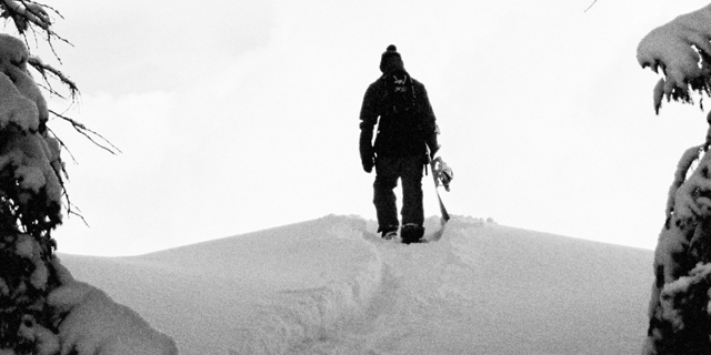Snowboarder Elias Elhardt