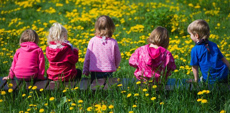 Kindheit im Grünen schützt die Psyche