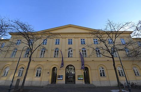 Portal der Universität für Musik und darstellende Kunst Wien