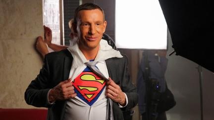 Stefan Petzner als Superman