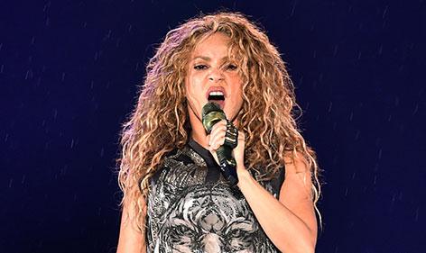 Shakira auf der Bühne