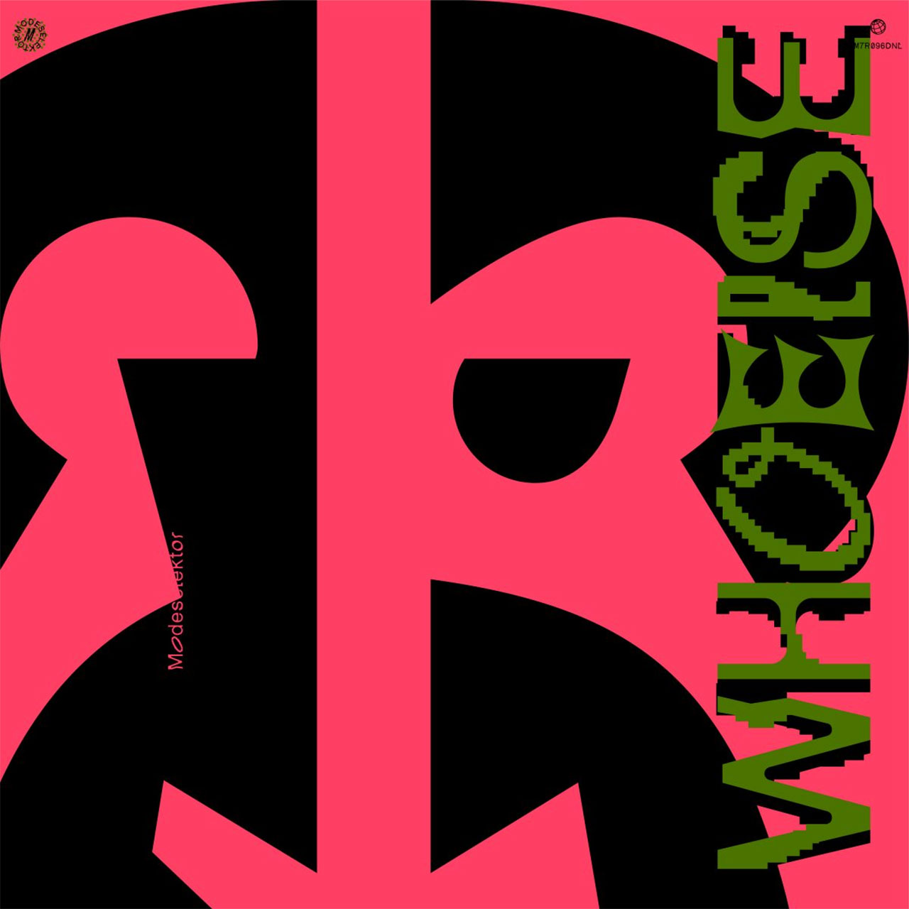 "Albumcover: Modeselektor ""Who Else"""