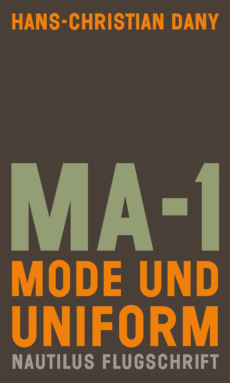 """Buchcover von """"MA1 - Mode und Uniform"""""""