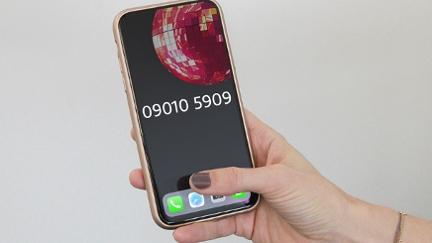 Handy mit Votingnummer