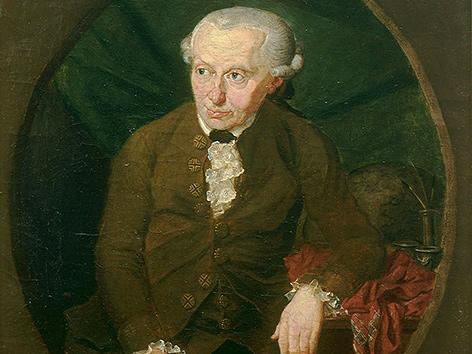 Immanuel Kant, Gemälde von Gottlieb Doebler (1791)