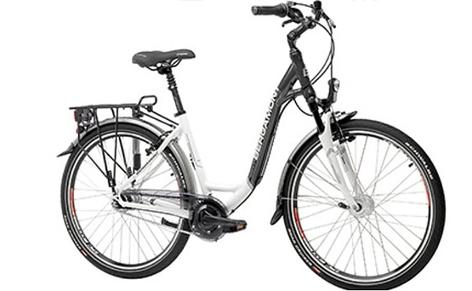 ein Fahrrad der Marke Bergamont
