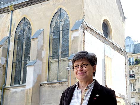 Die Präsidentin der Konferenz der Ordensmänner und -frauen in Frankreich (CORREF), Veronique Margron