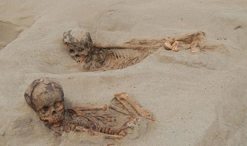 Kinder-Massengrab in Peru entdeckt