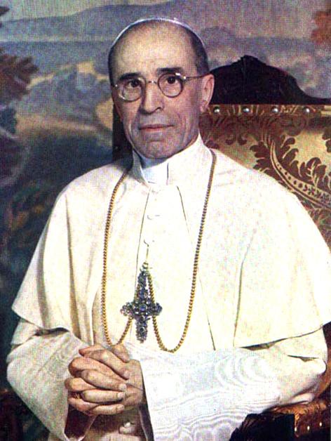 Papst Pius XII., Eugenio Pacelli (1939-1958)
