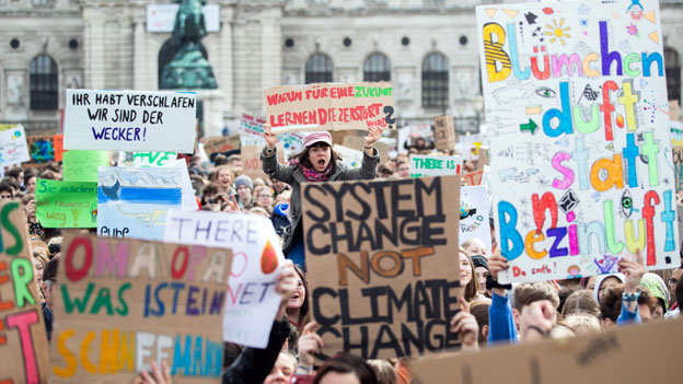 "KLIMA-DEMO - ""FRIDAYSFORFUTURE"""
