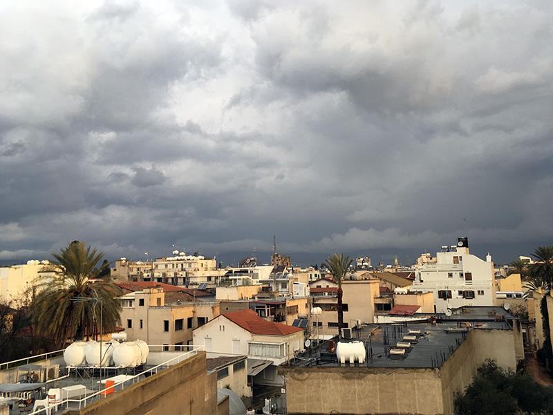 Flüchtlinge und Flüchtlingsbetreuer in Zypern